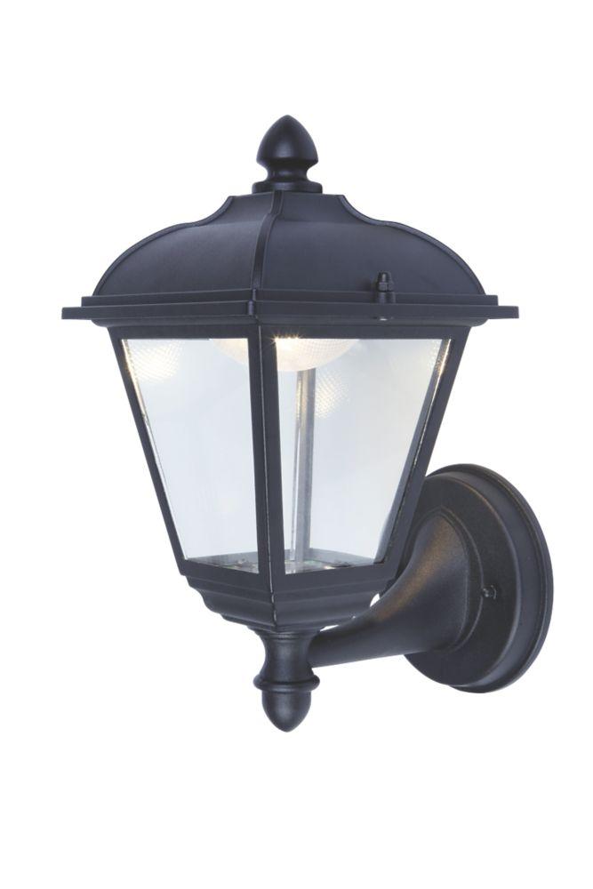 LAP  9.2W Black Wall Light 410lm