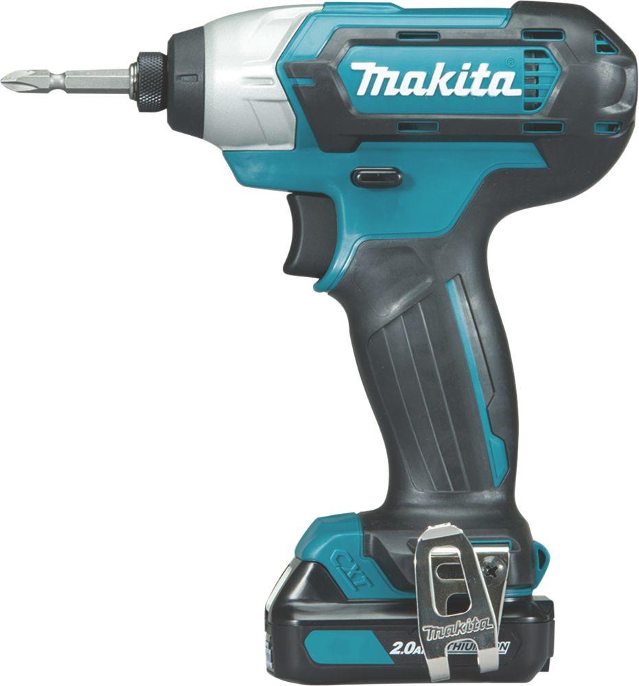 Makita TD110DWAE 12V 2.0Ah Li-Ion CXT  Cordless Impact Driver