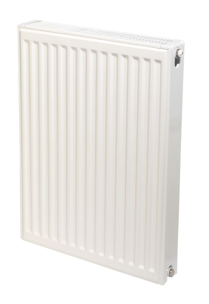 Stelrad Accord Compact Type 22 Double-Panel Double Convector Radiator 700 x 400mm White 2576BTU