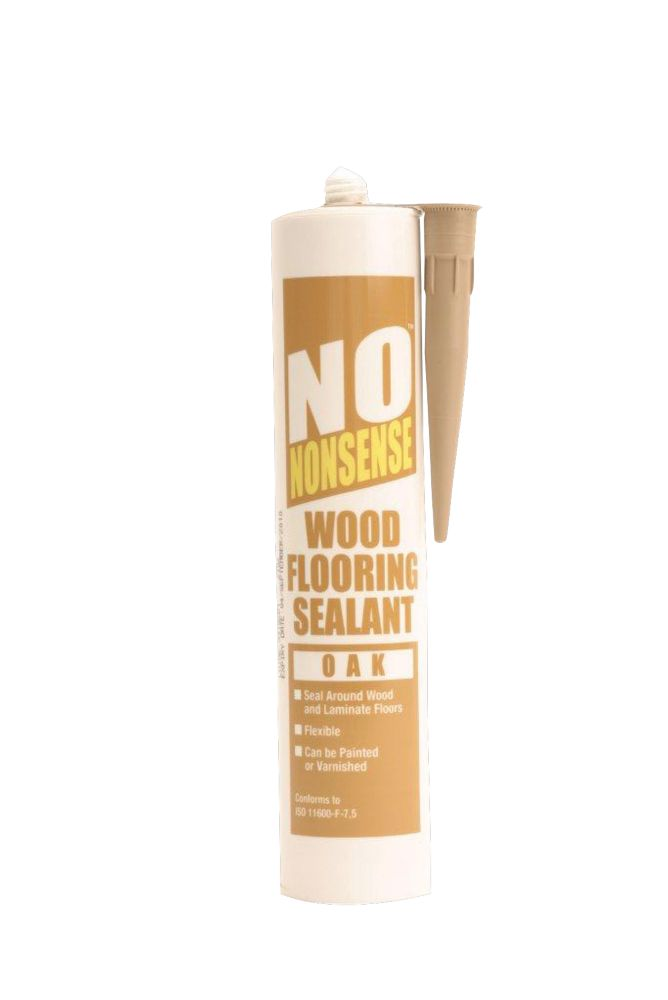 No Nonsense Wood Flooring Sealant Oak 310ml