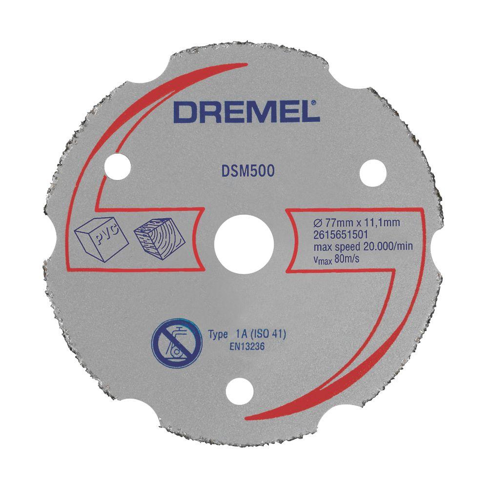 "Dremel Saw-Max Wood Multipurpose Carbide Cutting Wheel 2"" (55mm) x 5 x 11mm"