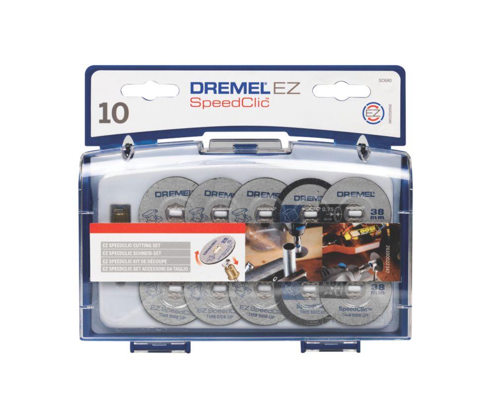 Dremel SC690 EZ SpeedClic Cutting Accessory Set 3.2mm 10 Pcs