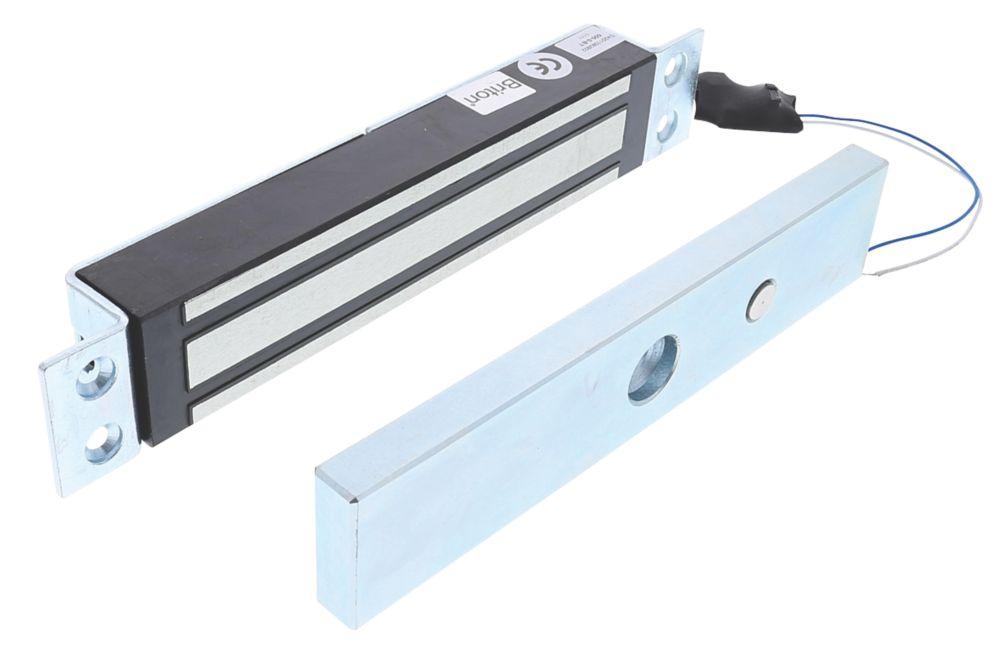 Briton 9560 Single Magnetic Door Lock Unmonitored Door Status 12 / 24V DC