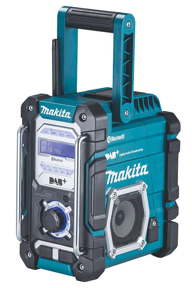 Makita DMR112 DAB+ / FM Cordless Bluetooth Site Radio 240V