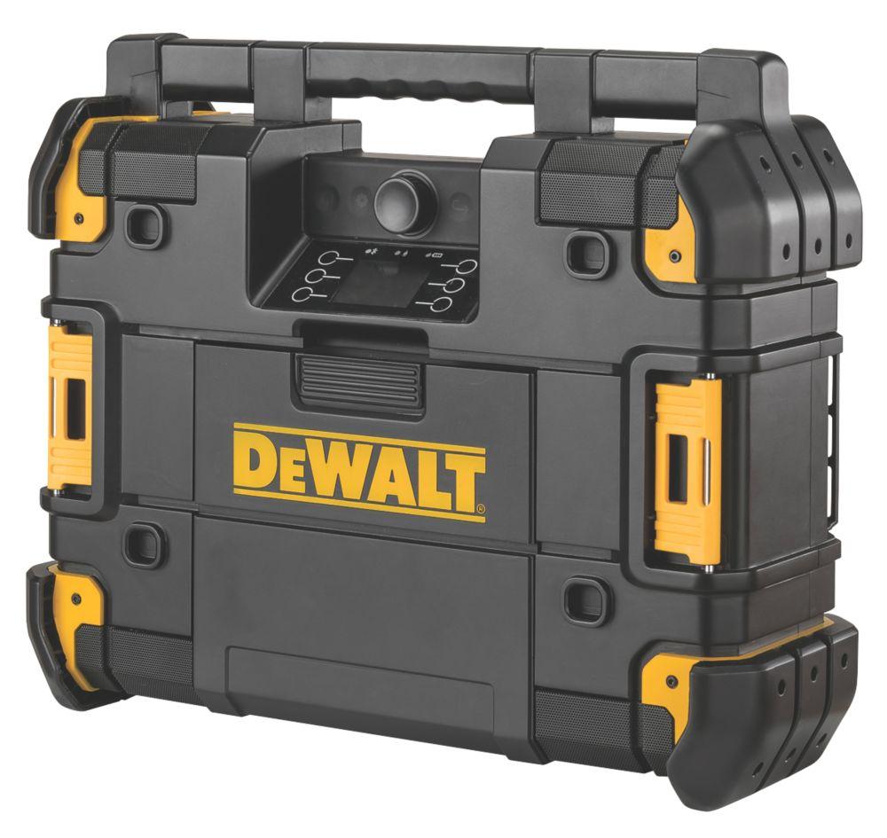 DeWalt DWST1-81079-GB DAB / AM / FM Cordless TSTAK Site Radio 18V