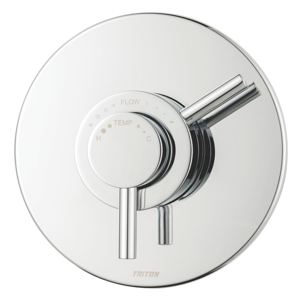 Triton Elina Concealed Mixer Shower Valve Fixed Chrome