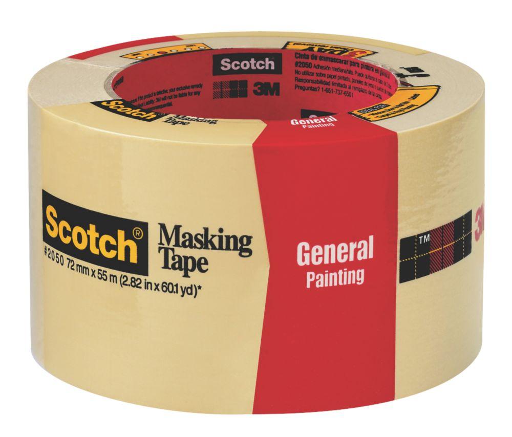 3M Masking Tape 55m x 72mm