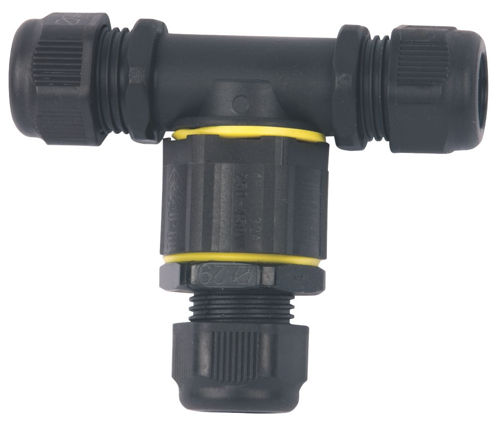Teetube IP68 3-Pole T-Splitter