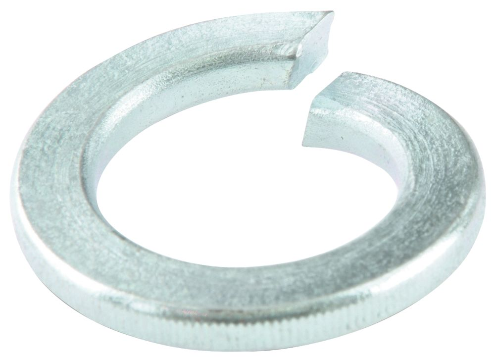 Easyfix Steel Split Ring Washers M5 x 1.2mm 100 Pack