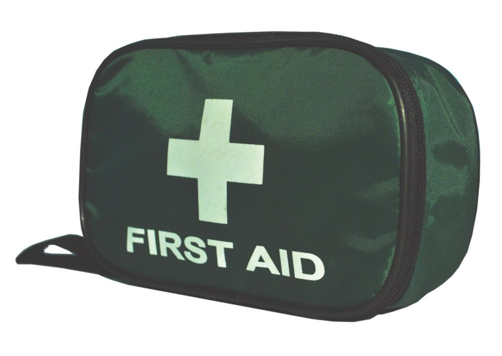 Wallace Cameron Astroplast Green Pouch British Standard Travel First Aid Kit Small