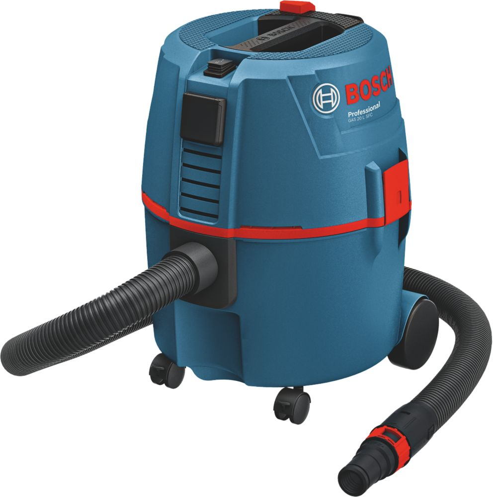 Bosch GAS20L SFC 62Ltr/sec Electric Wet & Dry Dust Extractor 230V