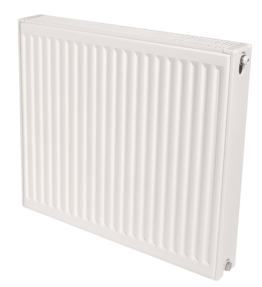 Stelrad Accord Compact Type 22 Double-Panel Double Convector Radiator 600 x 800mm White 4565BTU