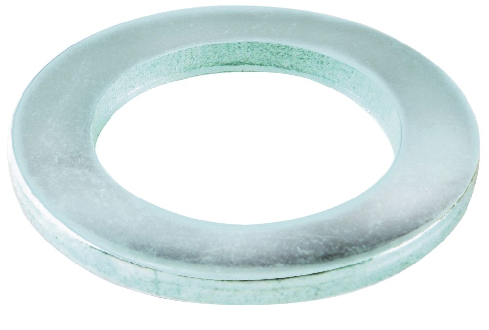 Easyfix Steel Flat Washers M4 x 0.8mm 100 Pack
