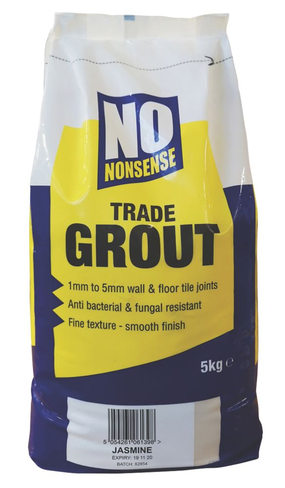 No Nonsense  No Mould Grout Jasmine 5kg