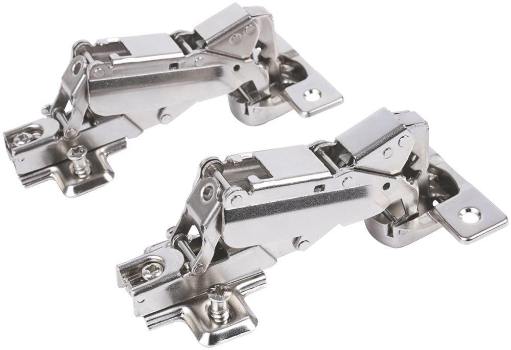 Hafele Steel Sprung Door Hinges 67mm 2 Pack