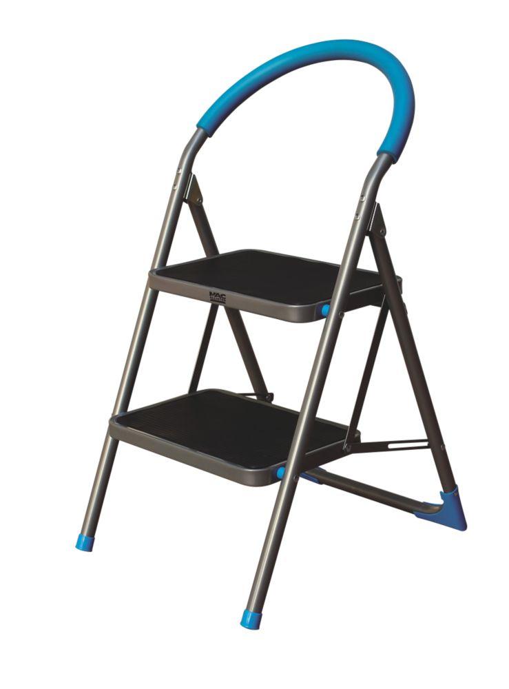 Mac Allister  Steel Folding Step Stool 0.48m