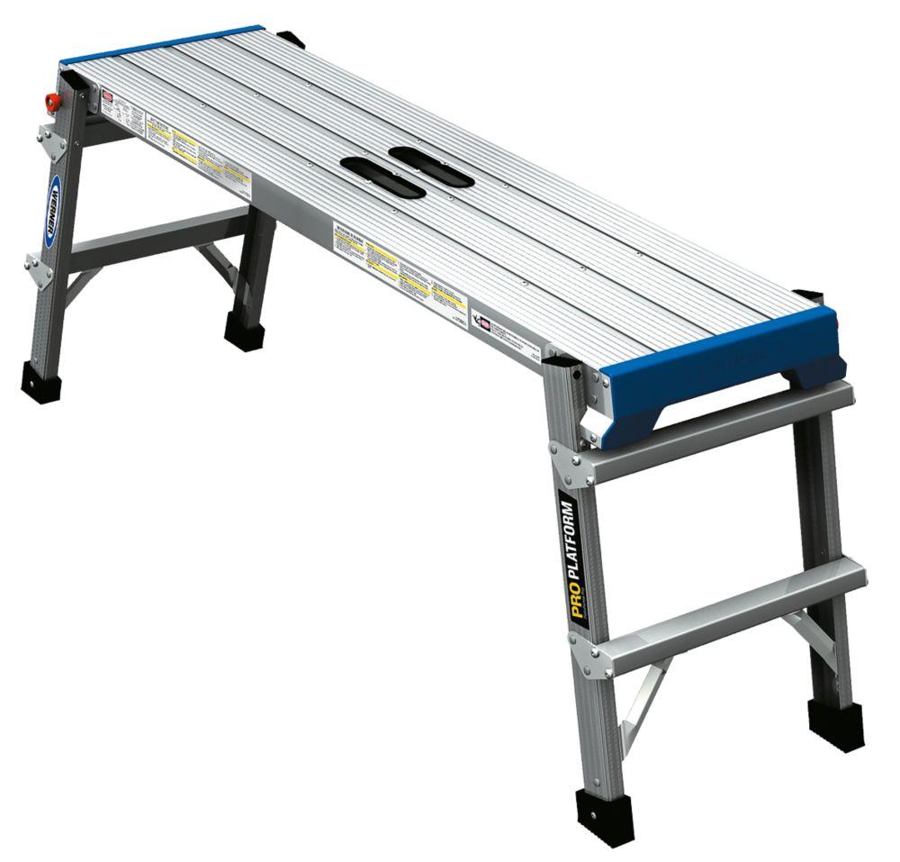 Werner Aluminium Work Platform 500 x 1150mm