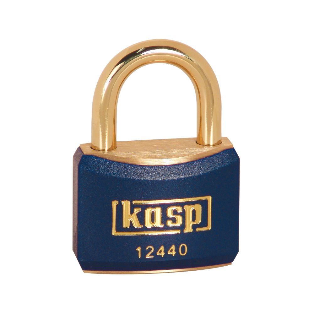 Kasp  Lockout Padlock Blue 20 x 21mm