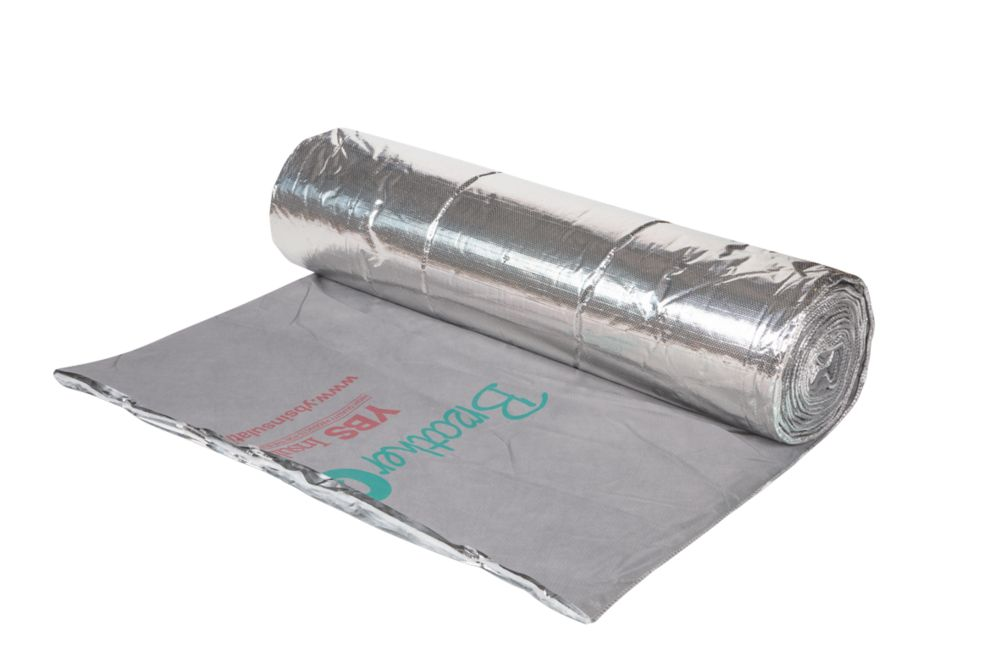 YBS BreatherQuilt 2-in-1 Membrane & Insulation 10 x 1.2m
