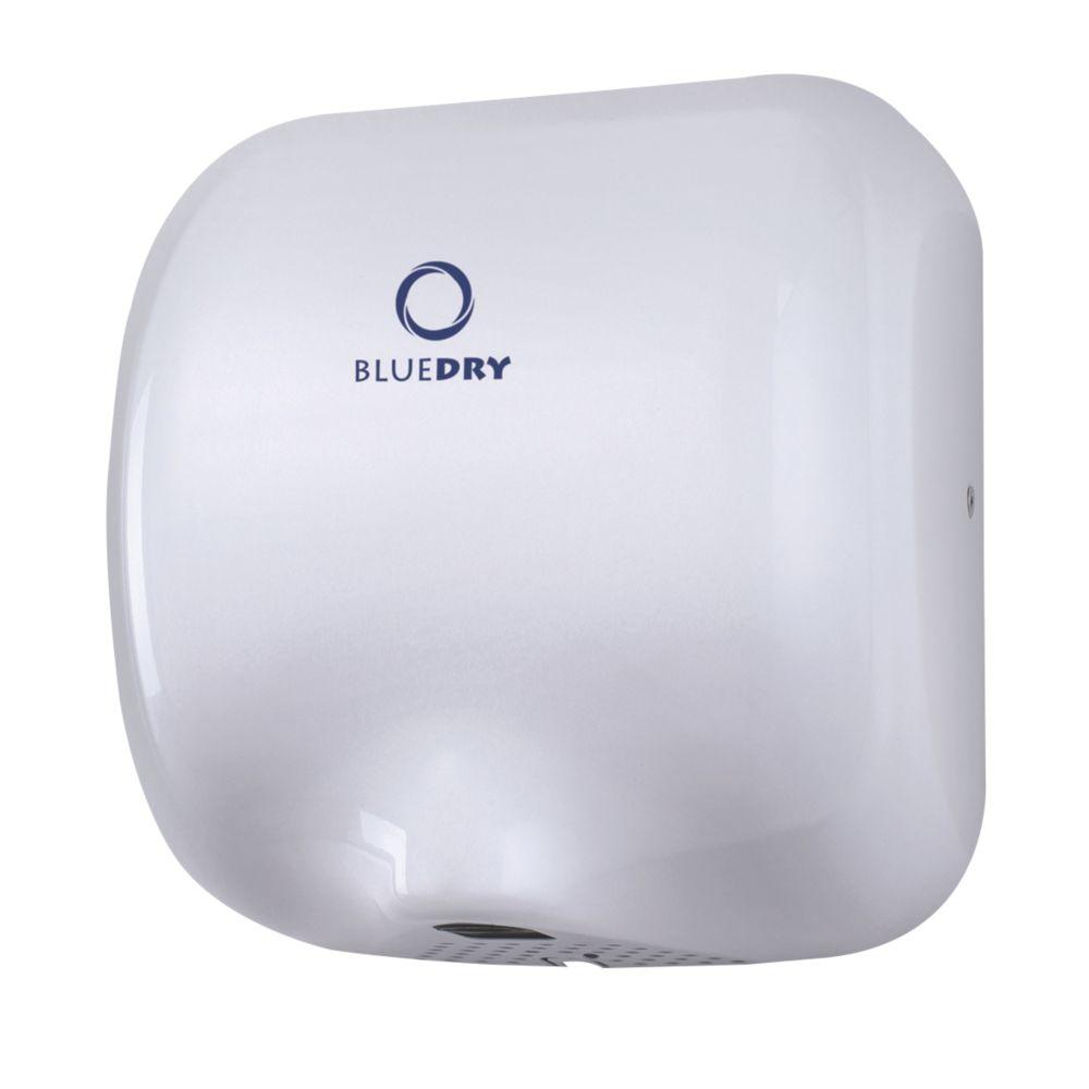 BlueDry Eco Dry High Speed Hand Dryer White 0.55-1.8kW