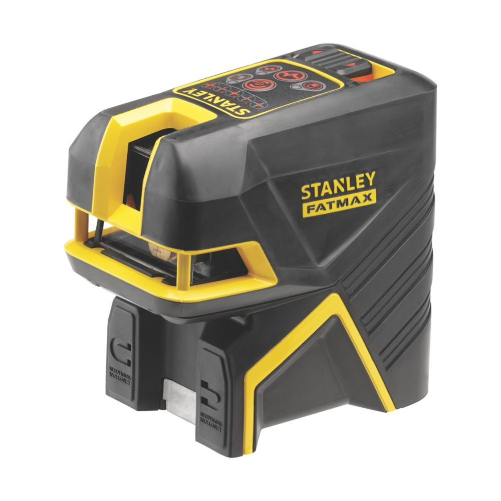 Stanley FatMax FMHT1-77415 Red Beam Cross Line and 5-Spot Laser Level