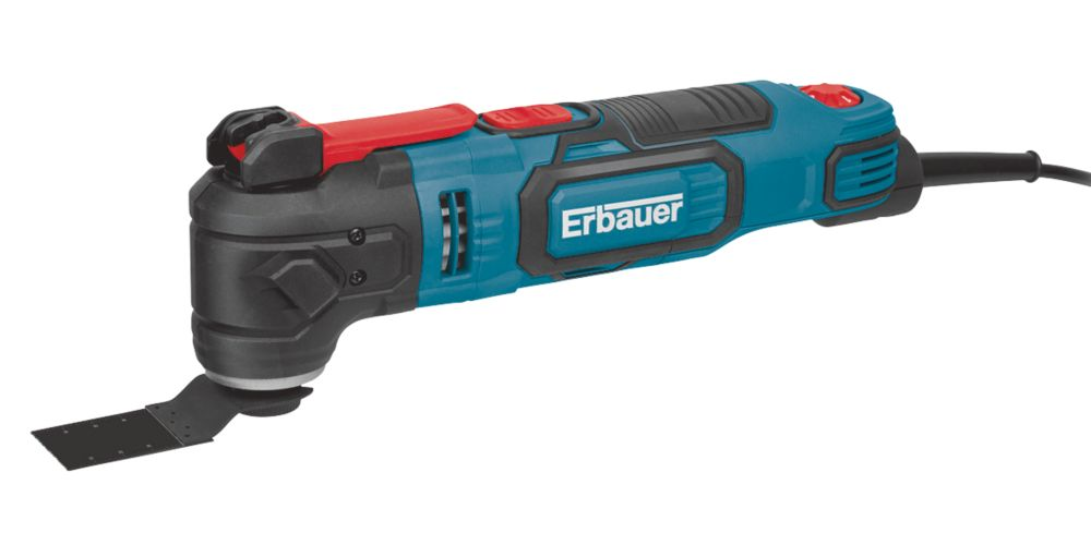 Erbauer EMT300-QC 300W  Electric Multi-Tool 220-240V