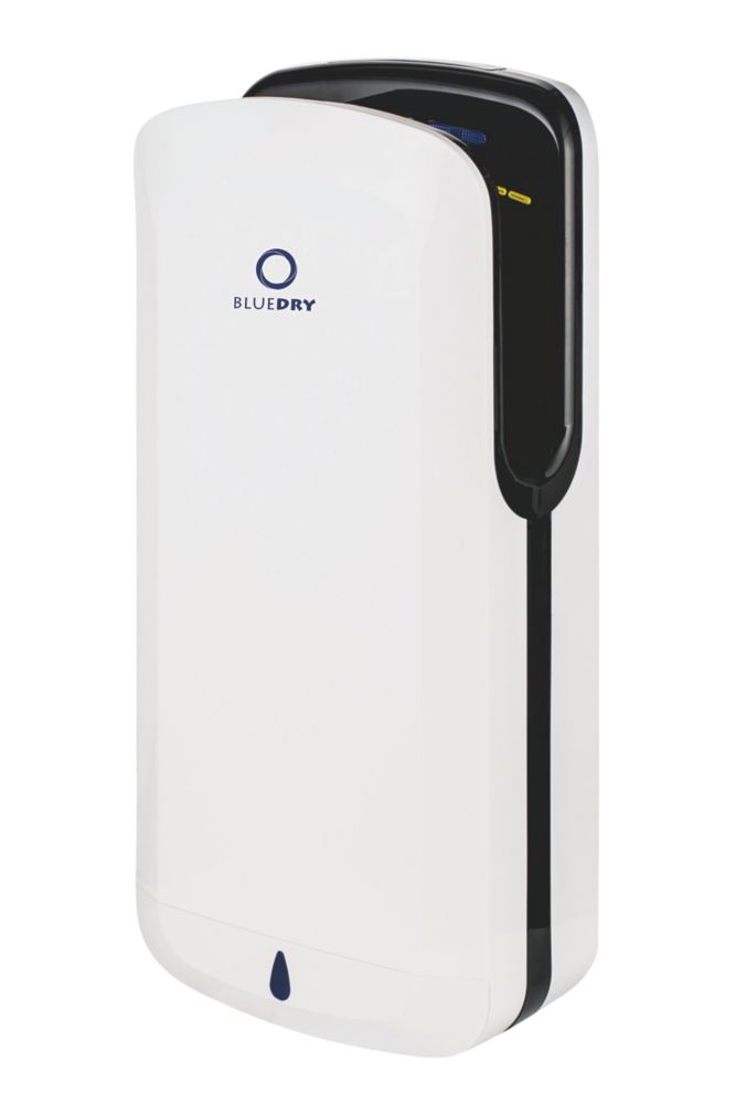 BlueDry  Hand Dryer White and Black 700-1650W
