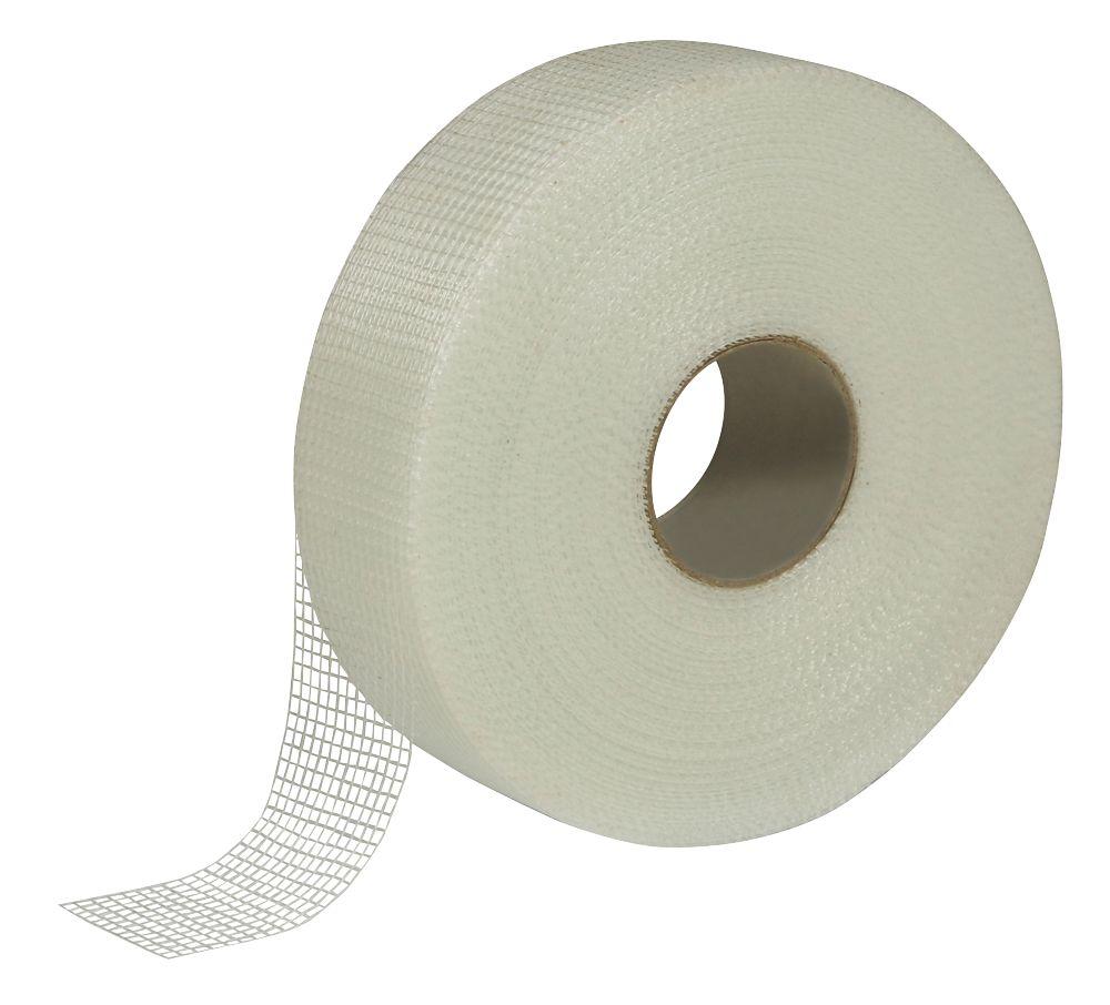 Diall Fibreglass Mesh Tape White 90m x 50mm