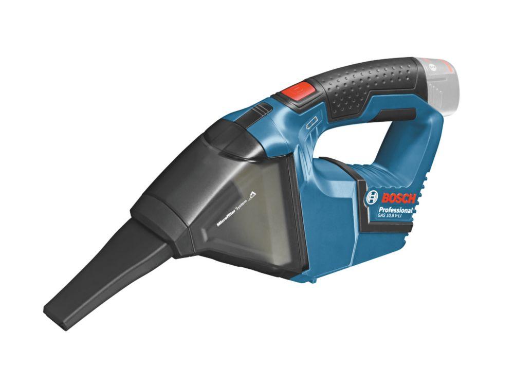 Bosch GAS12VLIN 12V Li-Ion   Cordless Mini Vacuum Cleaner - Bare