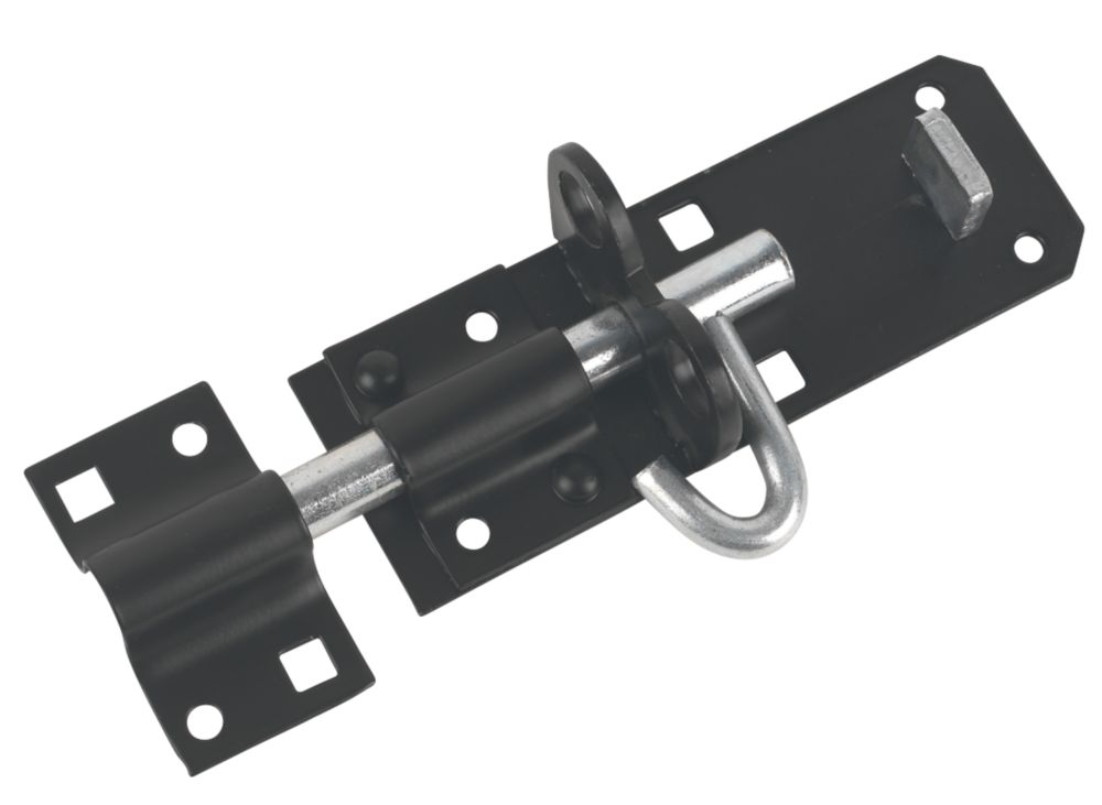 Brenton Gate Bolt Black 129mm
