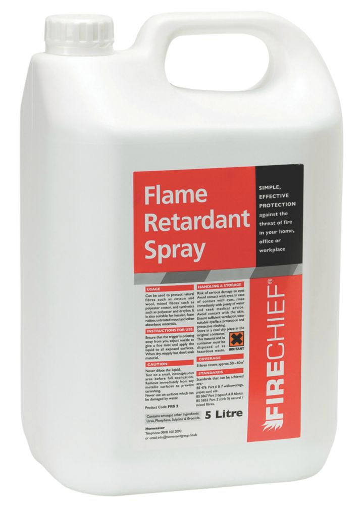 Firechief Fire-Retardant Spray 5Ltr