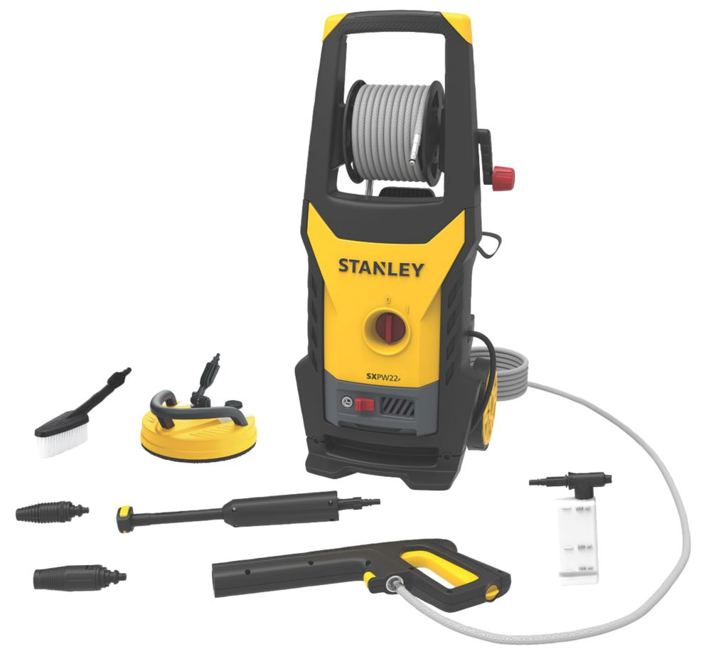 Stanley SXPW22PE 150bar Electric Pressure Washer 2.2kW 220-240V