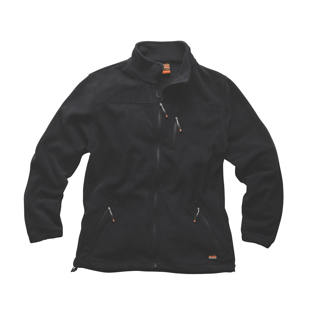"Scruffs Worker Fleece Black XX Large 50"" Chest"