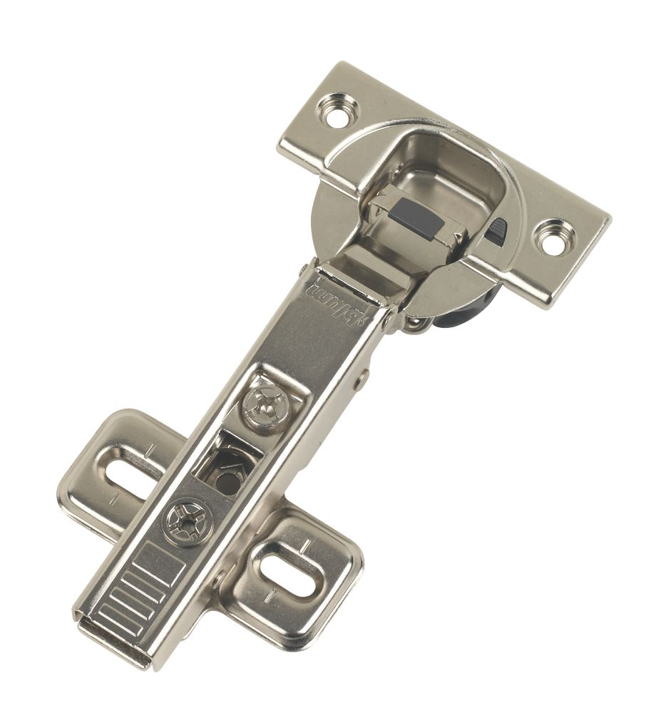 Blum Steel Blumotion 110° Soft-Close Clip-On Concealed Hinge 112mm 2 Pack