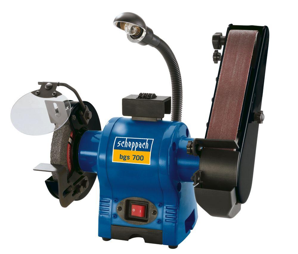 Scheppach BGS700 150mm Electric Grinder / Linisher 230V