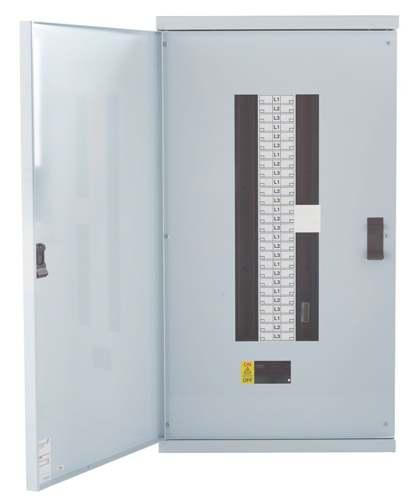 Schneider Electric KQ 18-Way Non-Metered 3-Phase Loadcentre Distribution Board