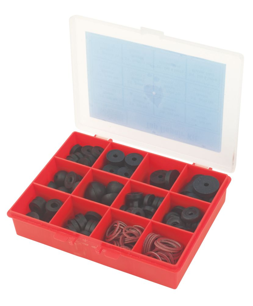 Replacement Tap Washers 170 Pcs
