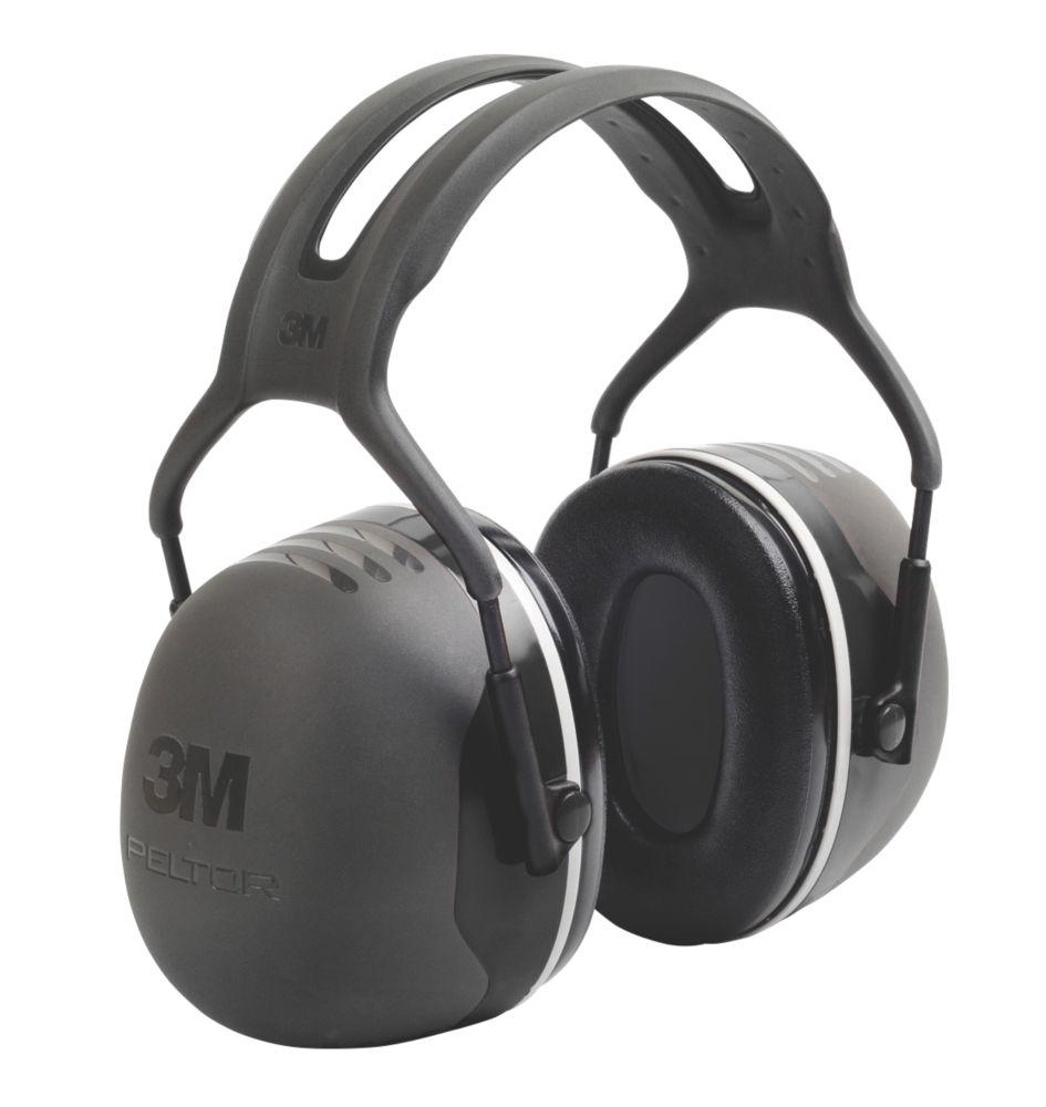 3M Peltor X5A Ear Defenders Black 37dB SNR