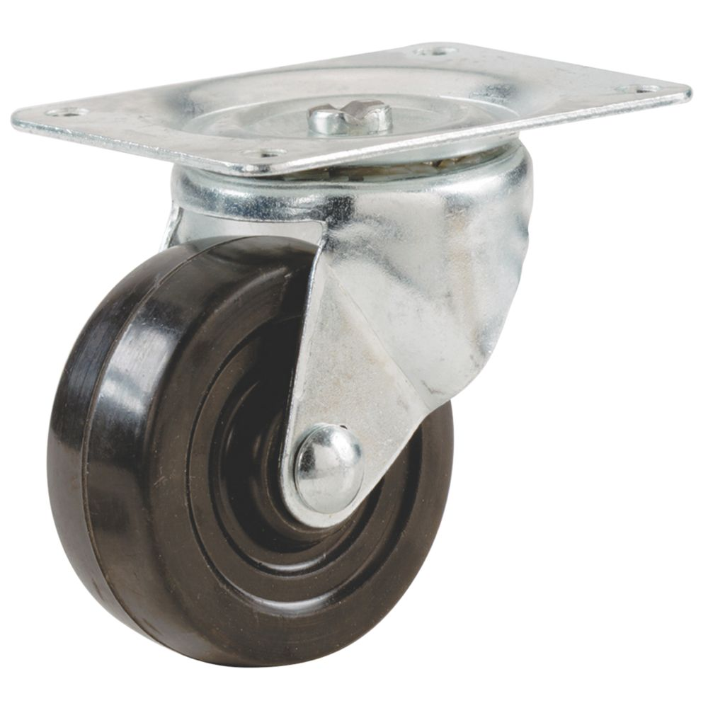 Select Heavy Duty Swivel Castor 64mm
