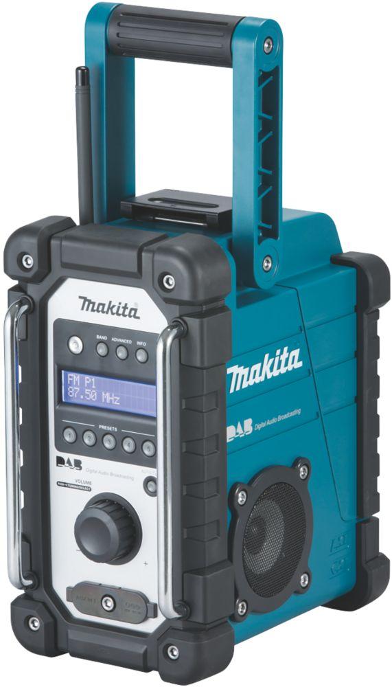 Makita DMR109 DAB / FM Electric DAB Site Radio 240V