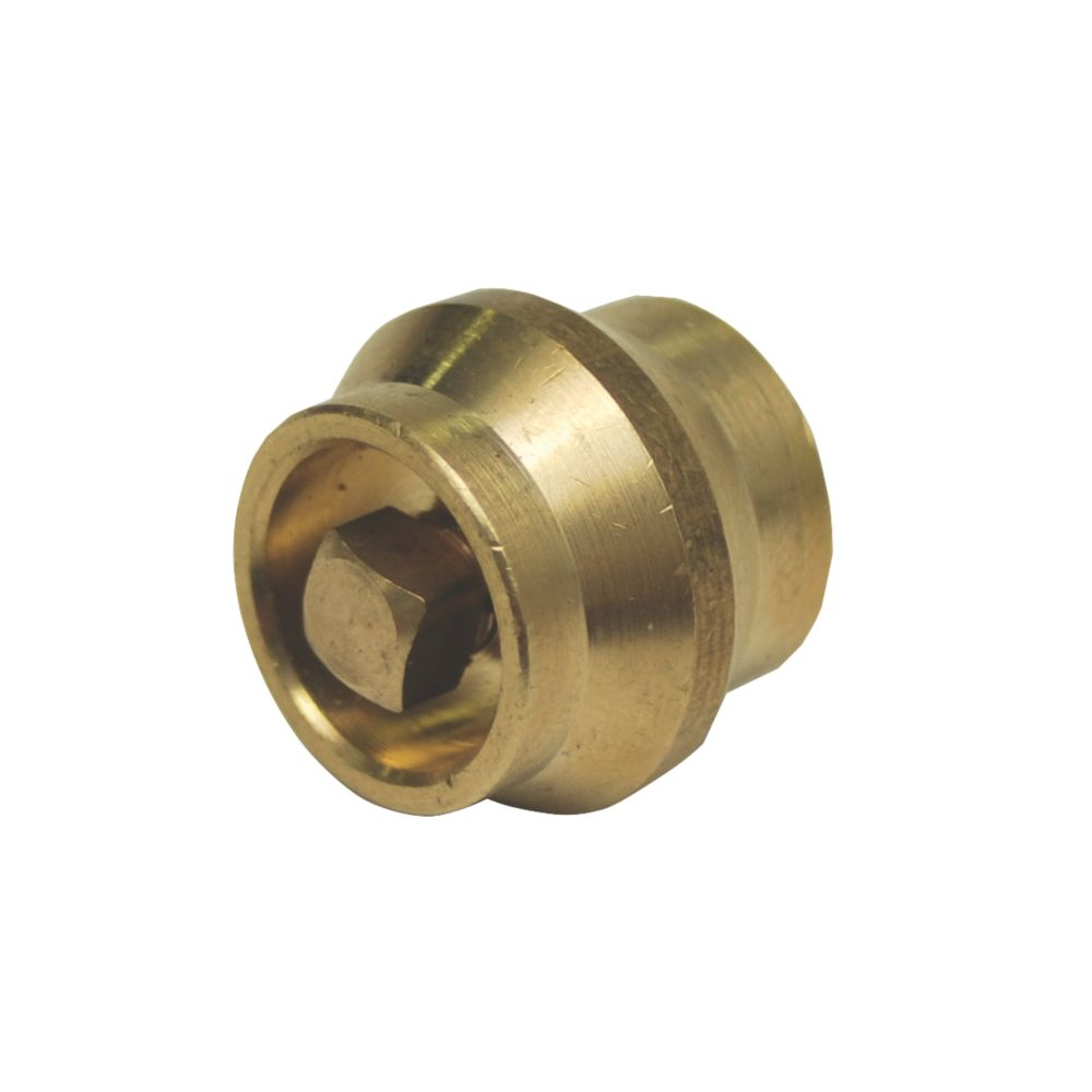 Compression Manual Air Vent Brass 2 Pack