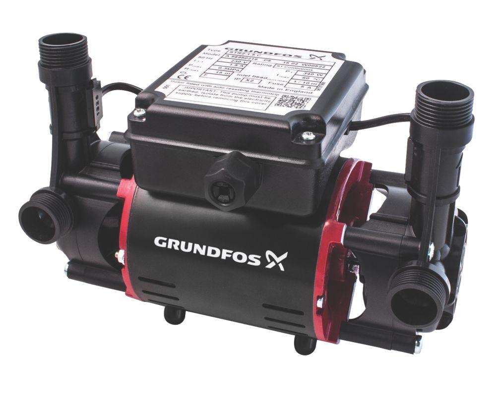 Grundfos 98950216 Regenerative Twin Shower Pump 1.5bar