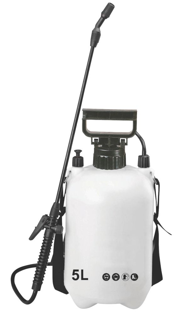 SX-CS5 White / Black Pressure Sprayer 5Ltr