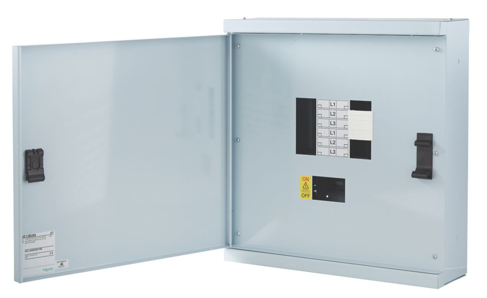 Schneider Electric KQ 4-Way Non-Metered 3-Phase Loadcentre Distribution Board