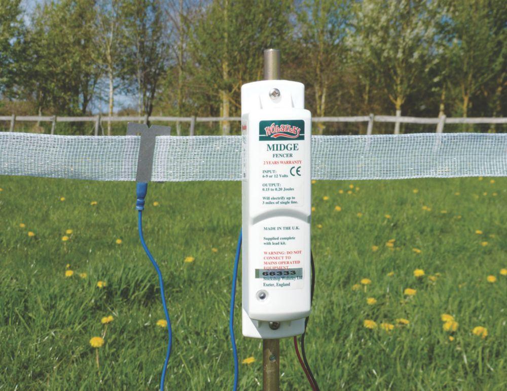 Stockshop BX120 Electric Fence Energiser Battery-Powered