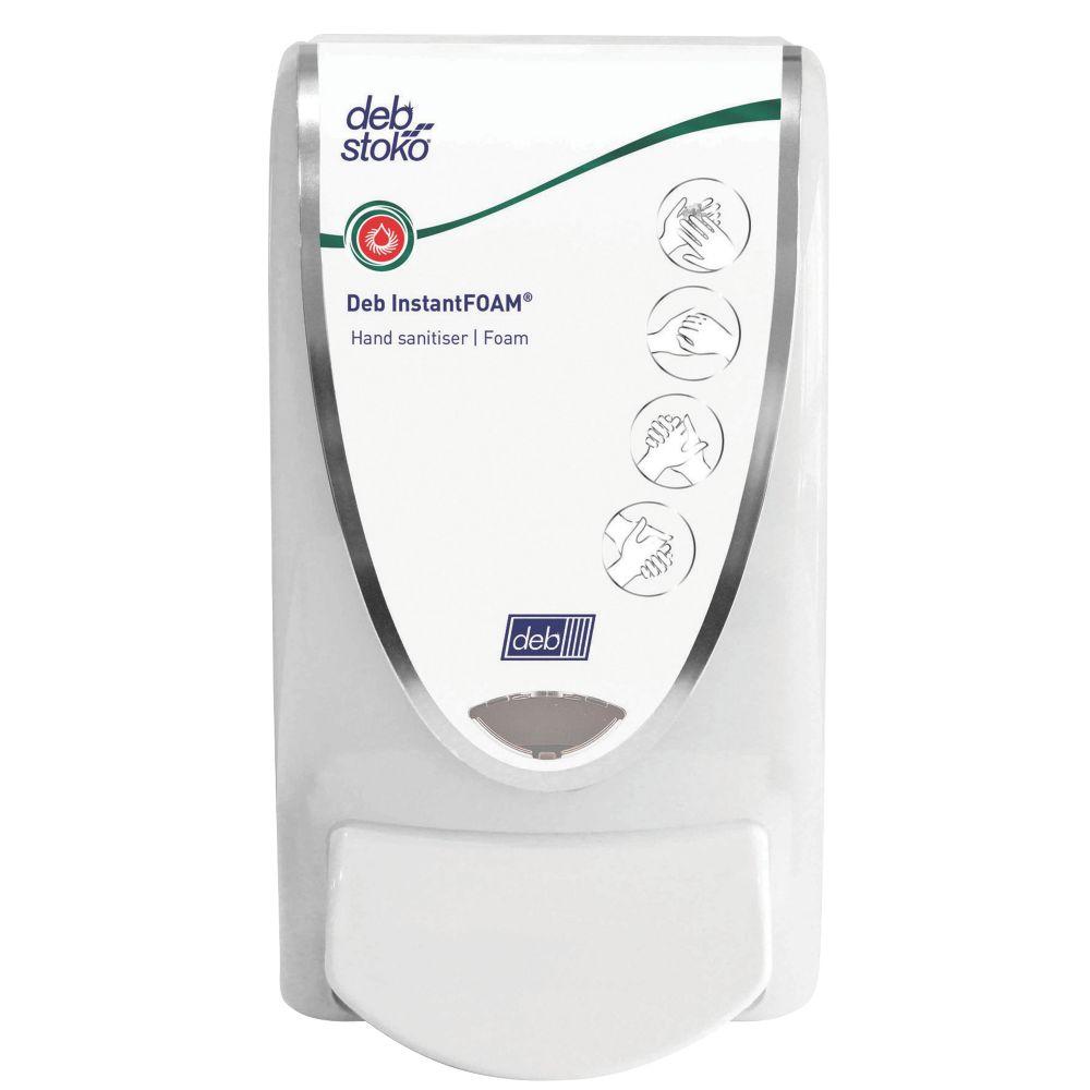 Deb Stoko White Sanitise Foam Dispenser 1Ltr