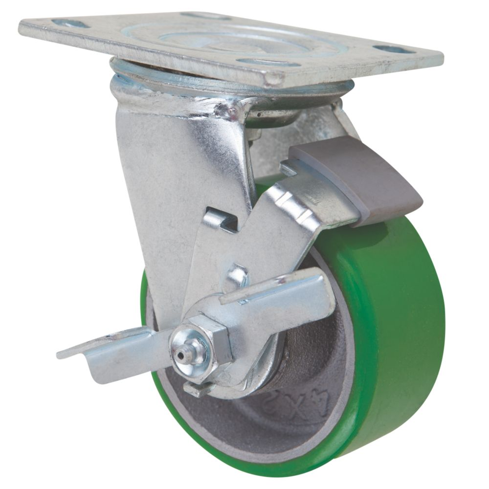 Select Braked Swivel Castor 100mm