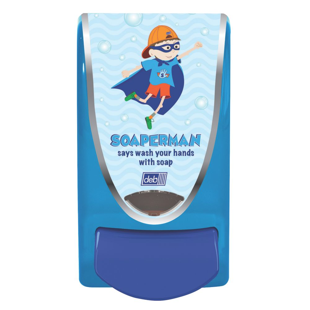 Deb Blue Soaper Man Soap Dispenser 1Ltr