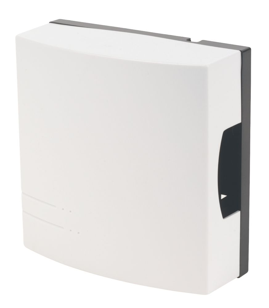Byron 772 Wired Wall-Mounted Doorbell White