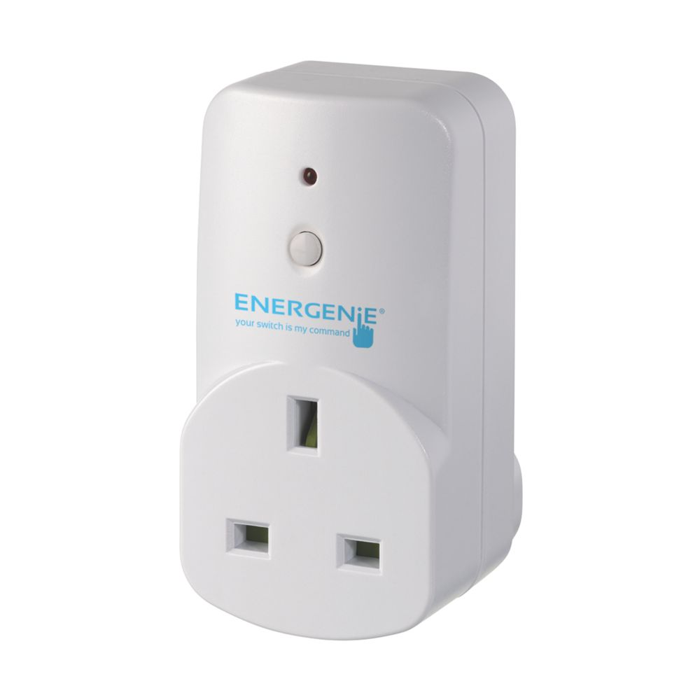 Energenie MiHome Adaptor Sockets White 3 Pack